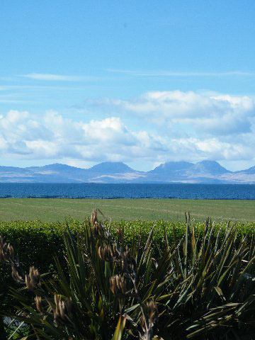 View west from Scotland